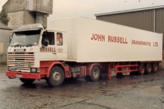 John Russell ( G'mouth) artic and trailer