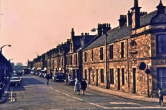 Looking Down Kerse Road from Abbots Road